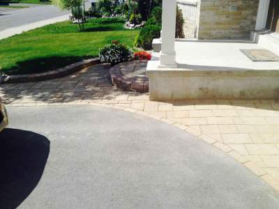 Ottawa Interlock Patio Stone Instalation